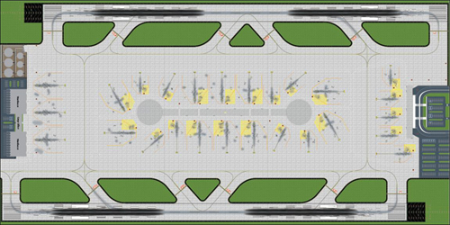 1 500 Dual Runway 1 Model Airport Model Airports And