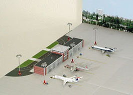 Model Airport Option 2 - Commuter terminal